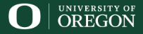 University of Oregon, Institute of Molecular Biology