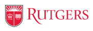 Rutgers, The State Univeristy of New Jersey